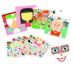 Detičky môžu nálepkami dotvoriť obrázky na predlohách – zábavná činnosť s prekásnymi výsledkami. Alebo môžu podľa vlastnej fantázie vytvoriť prekrásne obrazy nalepovaním rozličných detailov na holé tváre. Murs Roses, Best Cleaning Products, Magic Forest, Party Activities, Stickers, Friend Wedding, Play Houses, Teaching Kids, Arts And Crafts