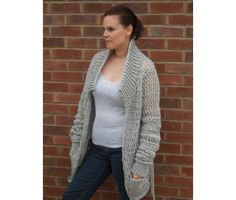 (Free PDF) Baggy Cardi -But you do have to register. This is a perfect project for those who want to whip up a project quickly, but ultimately comfy + casual. Great beginners project for those who wish to try something a little more challenging.  Materials: 650g (800g, 900g) of chunky/bulky weight yarn in 100% acrylic, L/11 (8.0mm) crochet hook 3 sizes: S – M (L – 1X(XL), 2X(XXL) – 3X(XXXL)