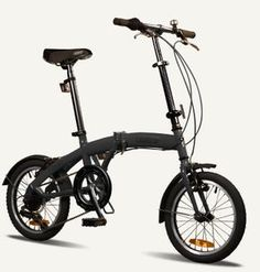"TOKYO Citizen Bike 16"" 6-speed Folding Bike with Ultra-Portable Frame  US $169.00 (Fits nicely in my FJ trunk, bug out bike.)"