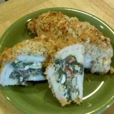 """Chicken Breasts Stuffed with Perfection 