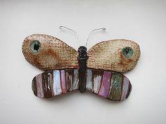 e-keramika / motýľ