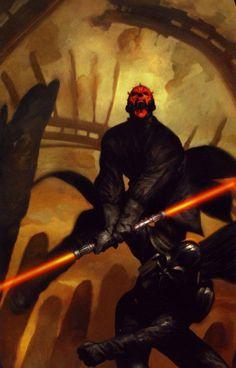 Darth Maul and Darth Vader