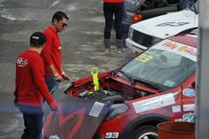 #SoyMeteoro en zona de pits  Renault Sandero Stepway