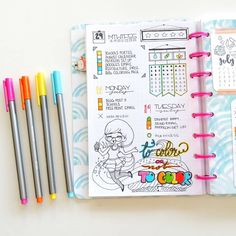 To color, or not to color? That is the question. Do you guys like to color in…