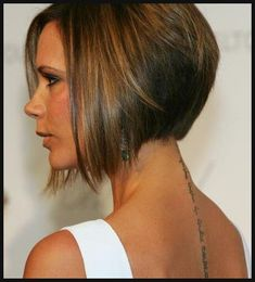Victoria Beckham Bob Haircuts I love this...but its to short for me ...   Einfache Frisuren