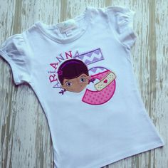 Doc McStuffins Birthday Shirt/Pink by LillysBowtique on Etsy