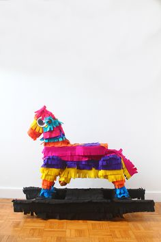 DIY Pinata Rocking Horse
