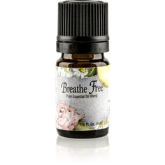 Breathe Free (5 ml) essential oils to fight #respiratory infection and relax #coughs. http://www.harmony4health.com