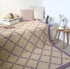 My Crochet Dream Nursery Rugs, Room Rugs, Rugs In Living Room, Area Rugs, Crochet Carpet, Crochet Home, Knit Rug, Textured Carpet, Geometric Rug