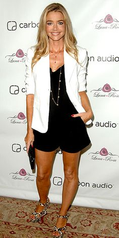+1 for Denise Richards -- the white blazer and leopard-print shoes really make this outfit work http://www.peoplestylewatch.com/people/stylewatch/gallery/0,,20618502,00.html#21195866