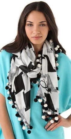 DVF scarf. Amazing