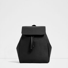 Image 1 of BACKPACK WITH FOLDOVER FLAP from Zara