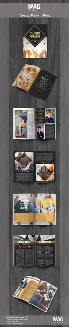 Créer gratuitement un magazine en ligne et l'imprimer à petit prix en cliquant sur https://fr.magglance.com/magazine/creer-un-magazine #magazine #magazine #modèle #design #échantillon #exemple #Template #façonner #créer #cadeau #mise en page #idée