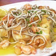 Cocina – Recetas y Consejos Spanish Kitchen, Cooking Recipes, Healthy Recipes, Small Meals, Seafood Dishes, Mediterranean Recipes, Fish Recipes, Tilapia, Food To Make