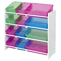 Toy Organizer With Bins | Save 25% On Childrenu0027s Bin Toy Storage @  Sainsburyu0027s