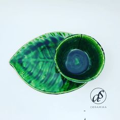 Green Leaves, Plates, Tableware, Licence Plates, Dishes, Dinnerware, Griddles, Tablewares, Dish