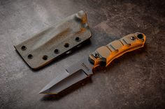 Deimos with hollow grind. Picture is from @willstricklinphotography