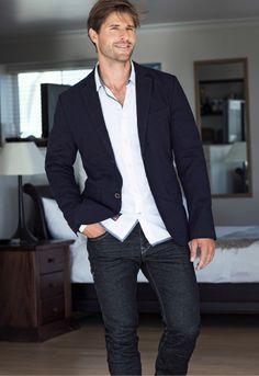 Tom Tailor Bleiseri. Puuvillaa, 99,95 €. Strechfarkut, 69,95 € - sokos.fi Breast, Suit Jacket, Suits, Jackets, Style, Fashion, Down Jackets, Swag, Moda