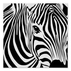 "Poster: ""Zebra"" by DragonArtz"