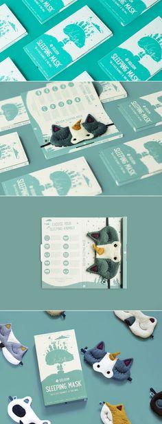 Ööloom Sleeping Mask Redesign — The Dieline - Branding & Packaging Design