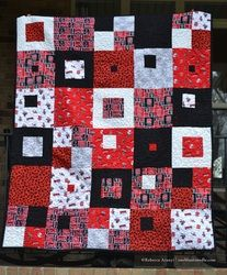 NC State University Quilt #2 - Rebecca Aranyi @rebeccaaranyi.com (formally at one blunt needle)