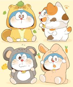 Doraemon so cute Cute Animal Drawings Kawaii, Cute Cartoon Drawings, Kawaii Drawings, Anime Chibi, Fanarts Anime, Doraemon Wallpapers, Cute Cartoon Wallpapers, Doremon Cartoon, Cute Chibi