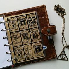 FAVtastic: Planner meets Potter | Filofax | Harry Potter Planner inspiration | Divider