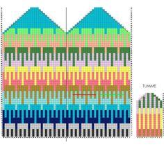 Клуб ЛОПАПЕЙСА's photos Crochet Gloves Pattern, Tapestry Crochet Patterns, Mittens Pattern, Knit Mittens, Knitted Gloves, Knitting Socks, Knitting Charts, Knitting Patterns, Diagram Chart