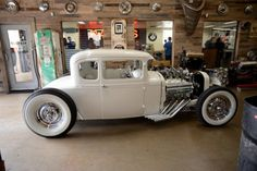 1930 Model A coupe that was custom built for Paul Senior of Orange County Choppers