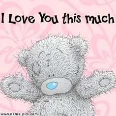 Love you Cupcake! Hugs And Kisses Quotes, Hug Quotes, Tatty Teddy, Teddy Bear Quotes, Special Friend Quotes, Teddy Bear Pictures, Blue Nose Friends, Love You Images, I Love My Son