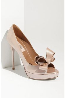Valentino Bow Pump - decided before the dress