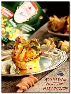 Wytrawne muffinki makaronowe - zakręcone dookoła świata