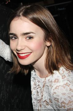 Lily Collins – 'Kinky Boots' on Broadway in New York City, 17.10.13