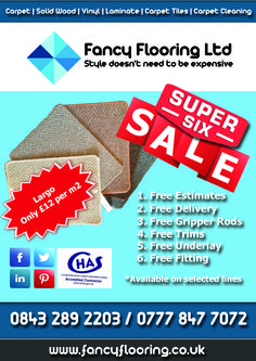 Fancy Flooring's Super 6 Sale - Day 1 - Largo