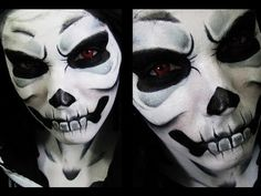 Lich | Skeleton Makeup - I wish I would have done this for halloween!!!!