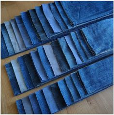 Old Jeans, Denim Jeans, Recycled Crafts, Diy And Crafts, Denim Crafts, Patchwork Jeans, Textiles, Refashion, Sewing Hacks