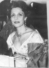 Artemis Onassis Garoufalidis , the compassionate older sister of Ari who befriended Jackie Kennedy. (original photographer unknown)