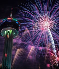 64 best Holidays   Celebrations images on Pinterest   Celebrations     San Antonio Tower of Americas New Year s Eve  Michael Troutman portrait  photography