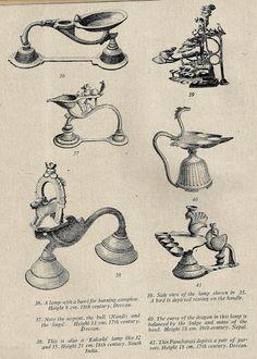 Heritage of India: Lamps of India (భారతదేశములో దీపములు) Mysore Painting, India Painting, Tanjore Painting, Indian Traditional Paintings, Indian Art Paintings, Light Of India, Indian Lamps, Art Indien, Ancient Indian History