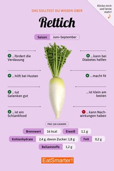Rettich Nutrition nutrition in beets Proper Nutrition, Nutrition Tips, Fitness Nutrition, Health And Nutrition, Beets Nutrition, Pasta Nutrition, Healthy Food List, Healthy Tips, Healthy Eating
