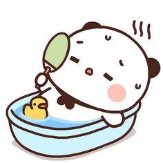 Little Panda, Cartoon Stickers, Couple Wallpaper, Cute Images, Panda Bear, Monsta X, Charlie Brown, Cute Art, Hello Kitty