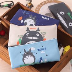 YL129 factory direct selling South Korea cartoon Totoro pencil case students stationery pencil  bag #>=#>=#>=#>=#> Click on the pin to check out discount price, color, size, shipping, etc. Save and like it!
