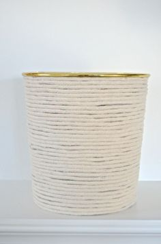 wrapped basket