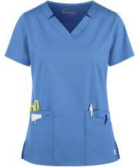 Butter-Soft Stretch Scrubs by UA Scrub Skirts, Scrub Jackets, Womens Scrubs, Scrub Pants, Drawstring Pants, Scrub Tops, Black Print, V Neck Tops, Plus Size