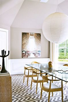 Tired Trends Done Well: Chevron | Interior design trends for 2015 #interiordesignideas #trendsdesign For more inspirations: http://www.bykoket.com/inspirations/category/interior-and-decor