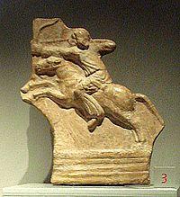 Parthian archer.