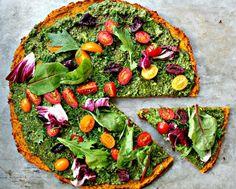 Pizza Paleo, Pizza Sans Gluten, Healthy Pizza Recipes, Low Carb Pizza, Paleo Recipes, Cooking Recipes, Protein Pizza, Skinny Recipes, High Protein