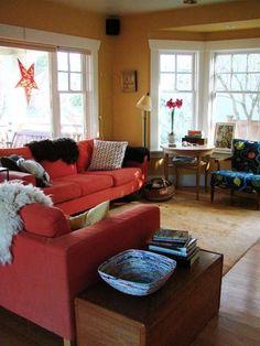 David & Cat's Eclectic Scandinavian Burrow — House Tour | Apartment