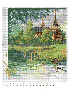 церковь у пруда 1