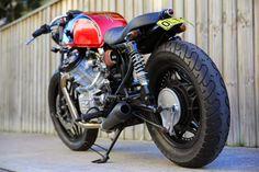 Double Barrel Garage CX500 Spike ~ Return of the Cafe Racers